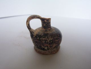 Ancient Greek Pottery Jug C.  5th - 4th Century B.  C. photo