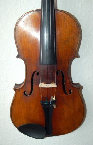 Fine Antique Handmade German 4/4 Fullsize Violin - Over 100 Years Old photo