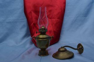 Wilcox Crittenden Gimbal Kerosene Lantern Chris Craft Vintage Matthews Elco Boat photo