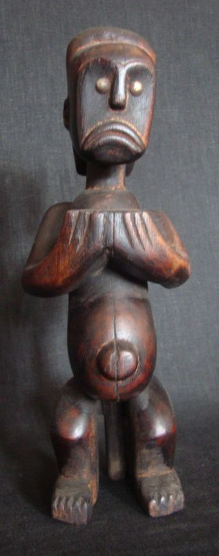 Fang Ancestor Reliquary Bieri Statue Power Figure W/provenance Gabon Initiation photo