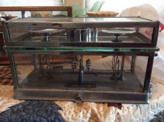 Vintage Torsion Apothecary Balance Scale Style 269 photo