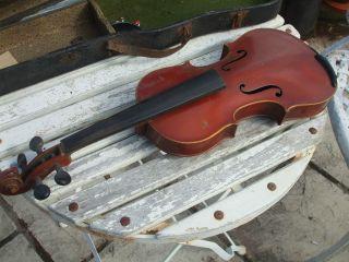 Antique Antonius Stradivarius Copy Violin - Made In Czecho - Slovakia photo