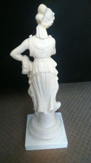 Persephone Hand Made Alabaster - Statue Of The Greek Goddess Of Underworld 12
