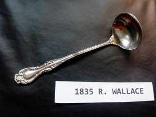 Joan 1896 Cream Ladle By 1835 Wallace 5 5/8