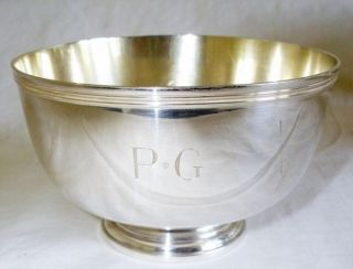 Fine Tiffany & Co Sterling Silver Bowl 225.  3 Grams photo