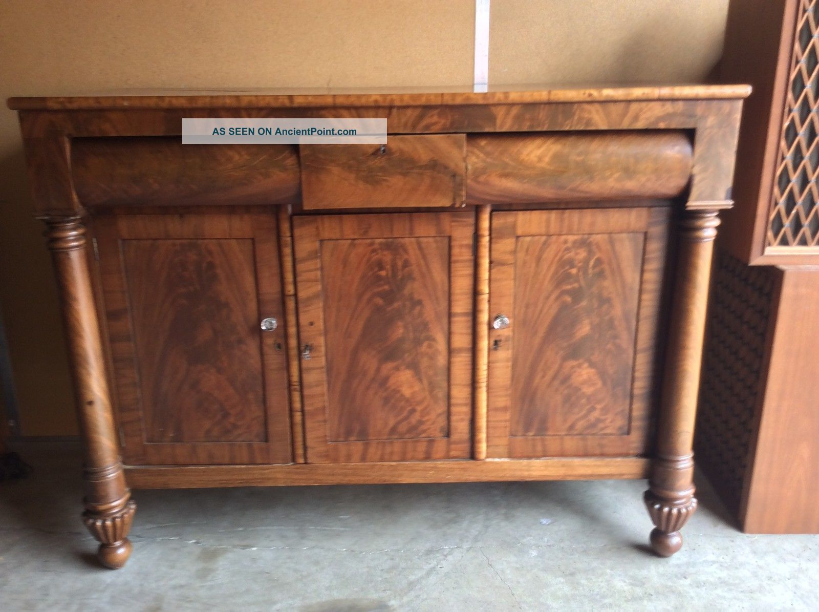Antique Sideboard Buffet From A Federal Period Local Pick Only 1800-1899 photo