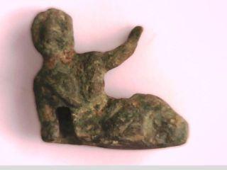 2rooks Ancient Greece Greek Or Roman Small Bronze Statue Of Apollo God Of Music photo