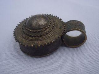 Antique Ethiopian Ethnic Tigrian Tribal Pendant: Old African Jewelry photo