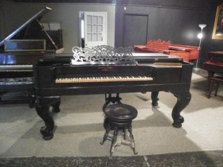 Steinway And Sons Square Grand Piano Partially Restored photo