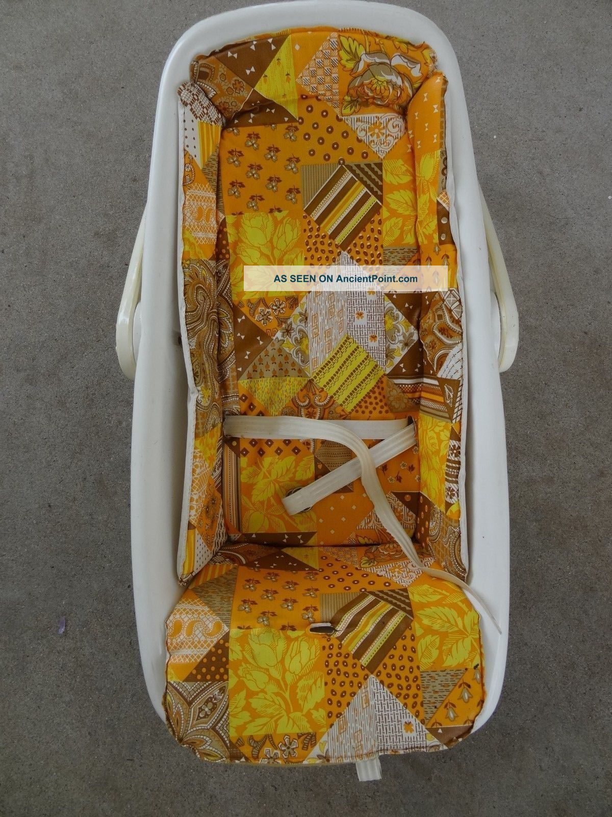 Vintage Infant Baby Carrier Car Seat Cosco,  60 ' S Or 70 ' S,  Harvest Colors,  Hippy Baby Carriages & Buggies photo
