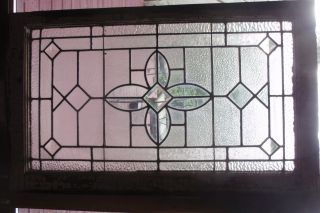 Early 20th Century Stained Glass Window photo