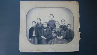 Large Antique Photograph & Documents Of Whaling Captain Albert Winslow photo