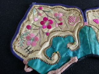 C) Embroidered Silk Chinese Collar photo