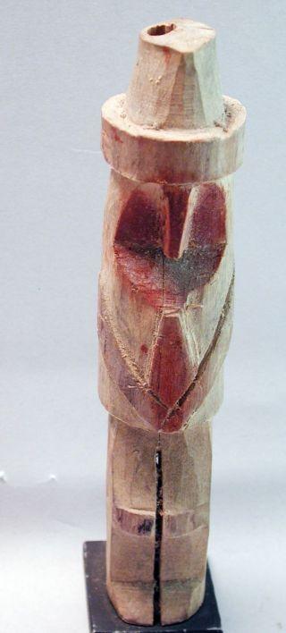 Nuchu Kuna Statue Healing Shaman Figure Doll Yala Rio Sidra Panama Ethn photo