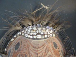 Papua Guinea Spirit Mask,  Tambunam E Sepik Province photo