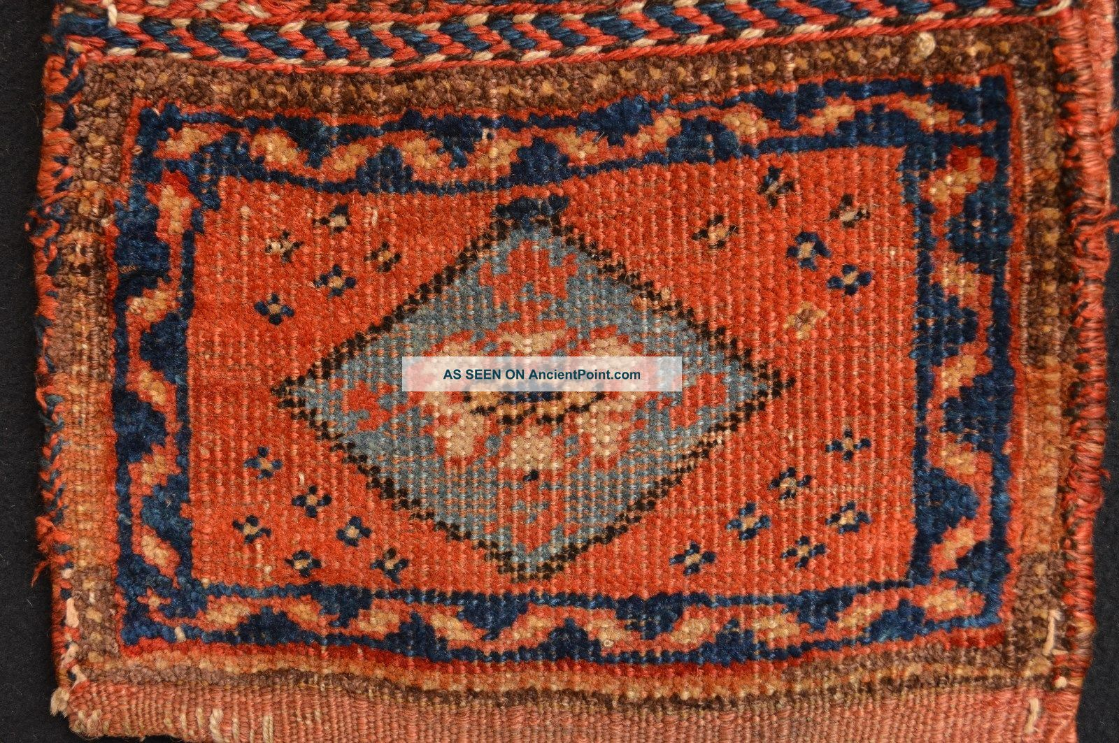 Gorgeous Antique Afshar Chanteh Bag Tribal Art Rugs & Carpets photo