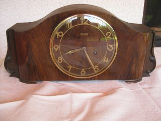 Antique German - Junghans - Mantel Clock At 1937 photo
