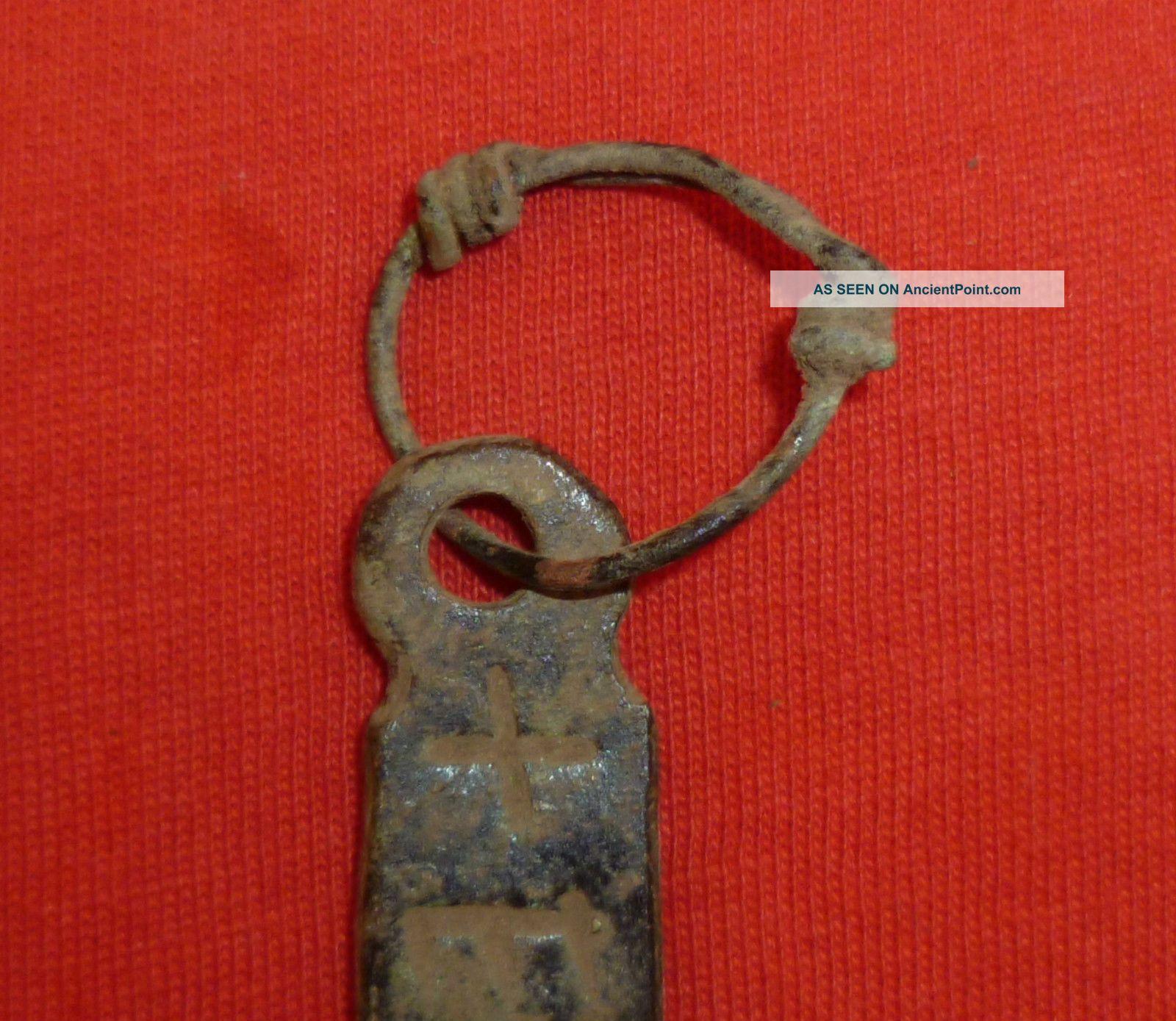 Viking Ancient Artifact Bronze Amulet Pendant Thor