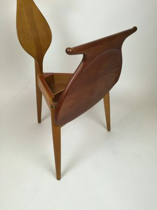 The Valet Chair By Hans Wegner For Johannes Hansen In Teak And Oak Danish Modern photo