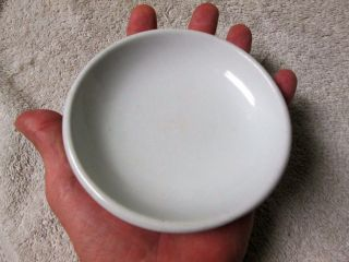 Antique 1869 J&g Meakin White Ironstone Small Dish,  Shallow Bowl,  Plate - photo