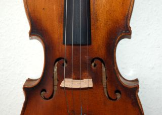 Fine Antique German 4/4 Violin - Brandmaked Stainer photo