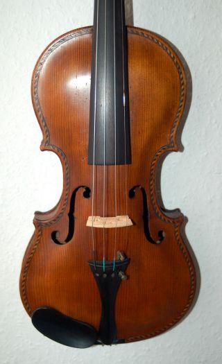 Probably Milanese Handmade 4/4 Master Violin - Labeled Giovanni Grancino photo