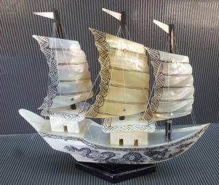 Pearl Seashell Ship,  Home Decor,  Wow,  Top,  Big One photo
