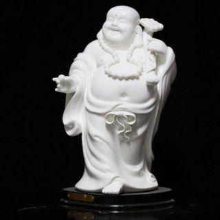 Chinese Dehua Porcelain Handwork Wishful Buddha Statue Csyb359 photo