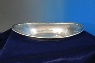 Waldorf Astoria Oval Open Serving Bowl 1931 International Silverplate photo