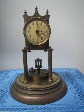 Anniversary Torsion 400 Day Clock Disc Pendulum Parts Only Vintage Antique Rare photo
