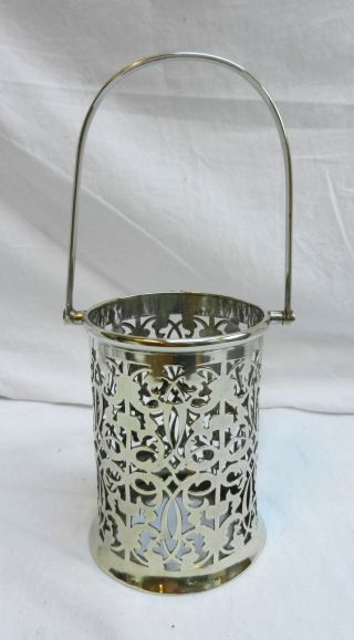 Art Deco James Deakin And Sons Silver Plate / Plated Preserve Pot Holder photo