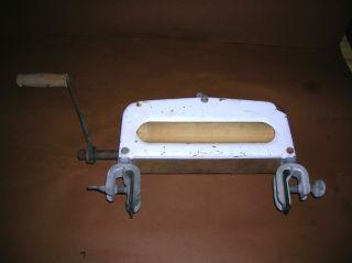 Antique Vintage 1930s Depression Era Washing Machine Clothing Ringer photo