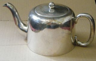 Bsc Epns Teapot By Birmingham Silver Company,  Vintage / Antique,  Tea Pot photo