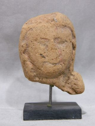 Antique Ancient Grecko Roman Alexandria Egypt Terracotta Venus Bust Sculpture photo
