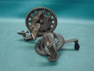 Antique Mechanical Apple Peeler Hudson Leominster,  Mass.  Pat.  Jan.  24 1889 photo
