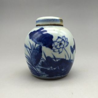 China ' S Rich And Colorful Hand Painted Lotus Ceramic Pot photo