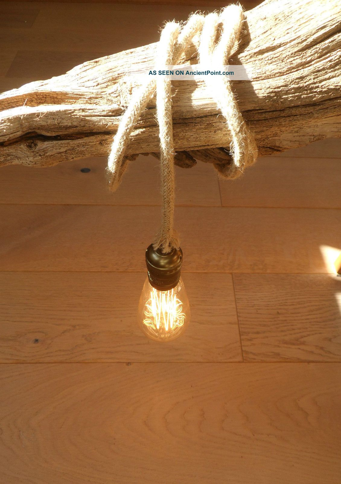 5 Mtr Jute Rope Covered 2 Core Light Flex Wire Cord Hanging Lamp Pendant Ceiling Reproduction Lamps photo