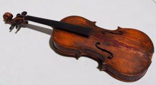 Antique Joannes Gagliano Januaris Gagliani Neapoli 1792 Violin Stradivarius Rare photo