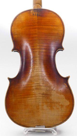 Amati Pesi Antique Old Violin,  Case Violino Violine Viola Violino German No.  1 photo