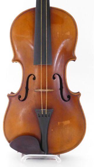 Vintage Stainer Old Violin,  Case Violino Violine Viola Violino German Antique 2 photo