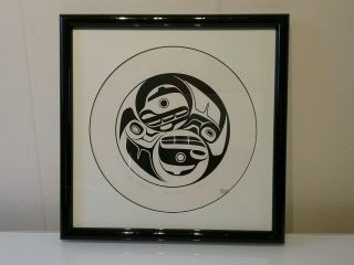 Haida Don Yeomans Limited Ed.  Print 1980 ' S