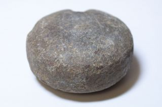 Rare Ancient Hawaii Ulumaika Game Stone Disc 2 - photo