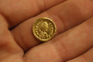 Roman Gold Tremissis Aelia Eudocia photo
