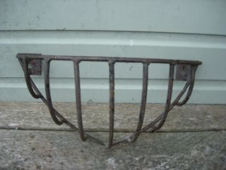 Small Vintage Metal Hay Rack / Garden Planter (614) photo