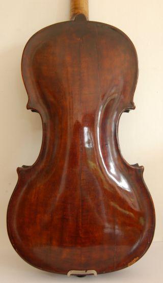 """C1800 German Violin """"franz Worle Geigenmacher 1804"""" Old Antique Lob:355mm photo"""