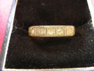 Ancient Roman / Byzantine Ring - - Detector Find photo