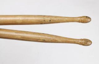 Vintage Wooden Wfl 2a Drum Sticks Minstrel/vaudeville/circus - Bert Cole Wood photo