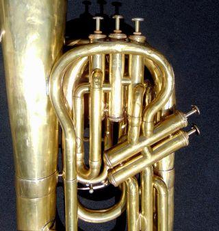 Besson Paris Five Valve Euphonium photo