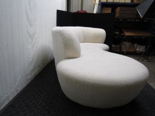 1 Vladimir Kagan Cloud Serpentine Sofa photo