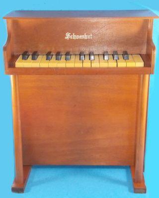 Vintage Schoenhut Child ' S Spinet Piano Great Sound & 1930s photo